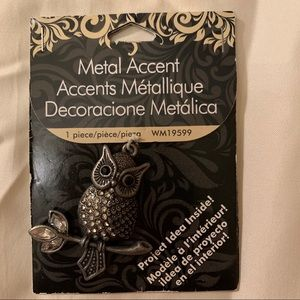 Owl Metal Accent Decoration Project